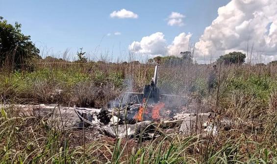 Brezilya'da futbolcuları taşıyan uçak düştü, kurtulan yok!