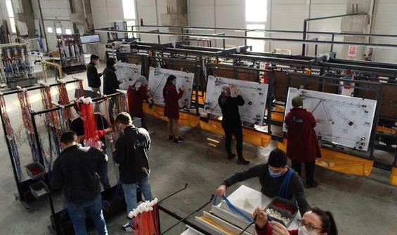 Eve Dönüş Projesi'nde fabrikalar açılmaya başlandı!