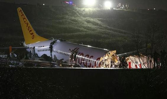 Pistten çıkan uçak kazasında yeni gelişme