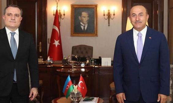 Çavuşoğlu, Bayramov ile görüştü