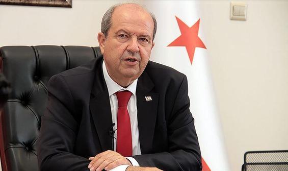 """Tatar'dan, Guterres'e """"Kıbrıs'ta iki devletli çözüm"""" mesajı"""
