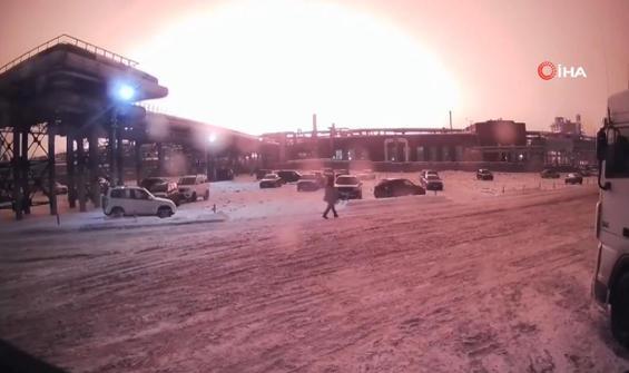 Korkunç patlama güvenlik kamerasında