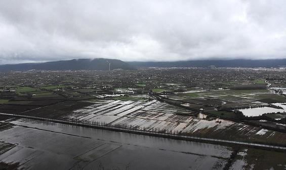Muğla'da tarım arazileri su altında kaldı