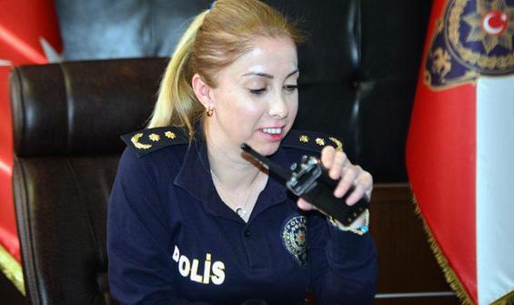 Şehit polisin kızı kentte bir ilki başardı