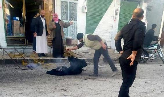 Tel Abyad'da canlı bomba saldırısı!