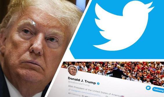 Twitter'dan Trump'a bir şok daha!