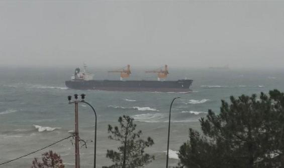 Panama bandıralı gemi Beykoz'da karaya oturdu