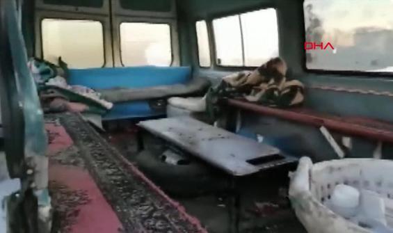 Minibüse 33 kişi sığdırmak için koltukları sökmüşler