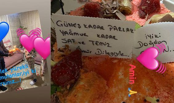 Melek İpek'in kızına doğum günü sürprizi