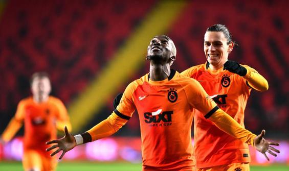 Galatasaray, Gaziantep'te Onyekuru'nun golleriyle kazandı
