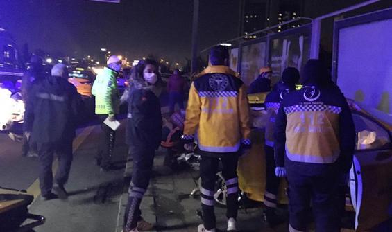 Ankara'da zincirleme kaza: 1 ölü, 3 yaralı