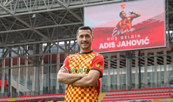 Adis Jahovic yeniden Göztepe'de