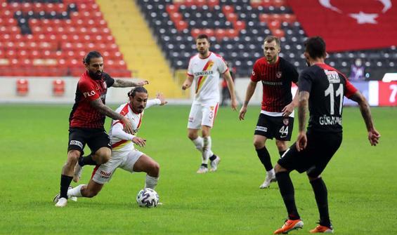 Gaziantep FK, Göztepe'yi eli boş gönderdi