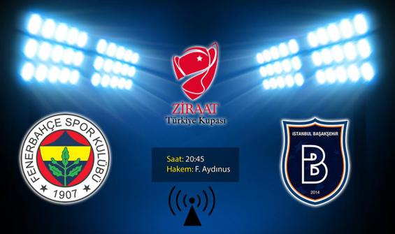 Fenerbahçe'nin rakibi Başakşehir