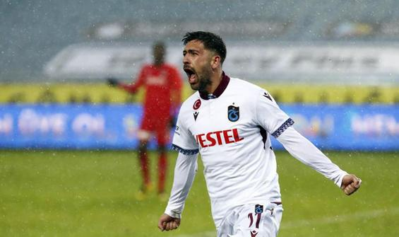 Trabzonspor, Gaziantep FK engelini Bakasetas'la aştı