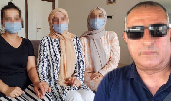 3 kız kardeşten iğrenç iddia! Baba hakim karşısına çıkacak
