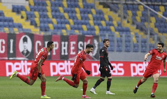 Beşiktaş başkentte 3 puanı 3 golle aldı