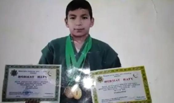 On dört yaşındaki Türkmen judocu dövülerek öldürüldü