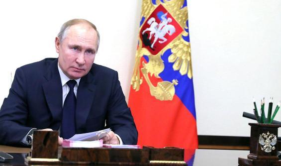 Putin: Herhangi bir darbeye izin vermeyeceğiz!
