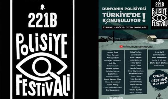 '221B Polisiye Festivali'nin konukları belli oldu