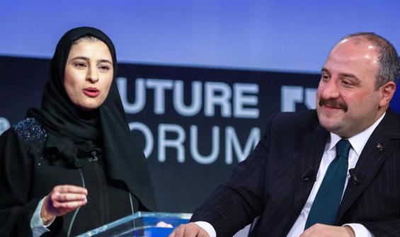 BAE'li Bakan, Bakan Varank'ın paylaşımına Türkçe cevap verdi