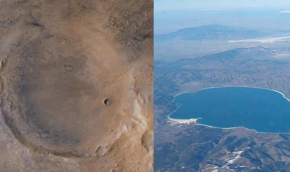 Jezero Krateri ve Salda Gölü arasında nasıl bir bağ var?