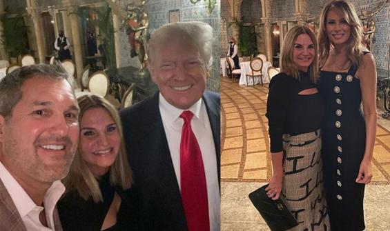 Trump çifti ilk kez görüntülendi