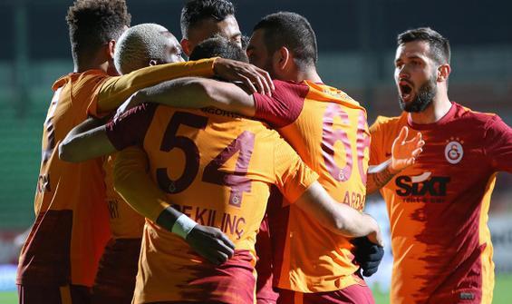 Galatasaray, Alanya'da 3 puanı tek golle aldı