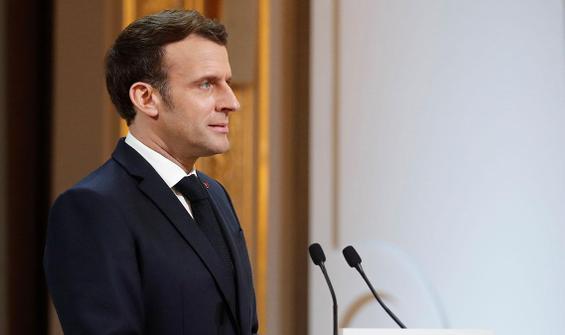 Macron: Aşı gönderirsek güvenilir oluruz
