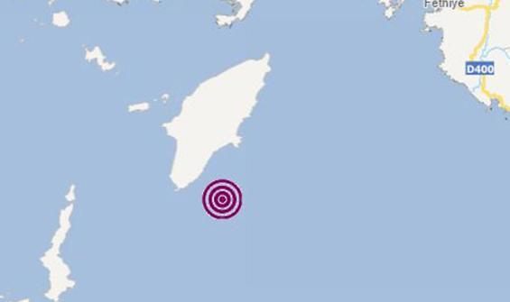 Marmaris'te 4,1 büyüklüğünde deprem!