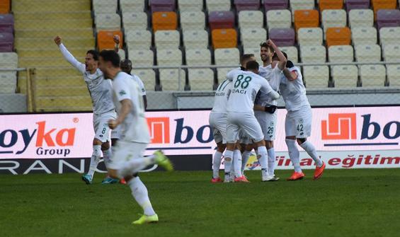 Konyaspor'dan muhteşem geri dönüş!