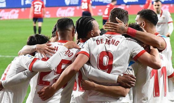 Sevilla deplasmandan 3 puanla döndü