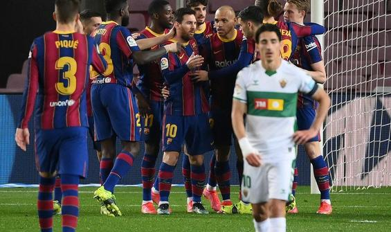 Barcelona, Elche karşısında ikinci yarıda açıldı