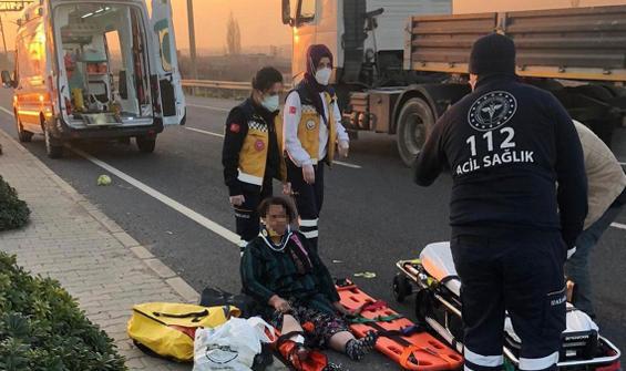 Kaza yaptı, yaralı annesini bırakıp kayıplara karıştı