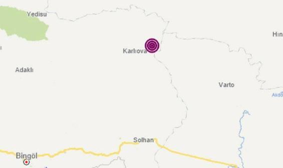 Bingöl Karlıova'da korkutan deprem