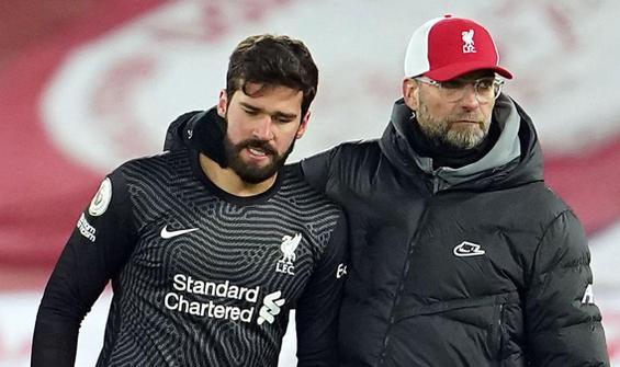 Liverpool kalecisi Alisson'ın acı günü