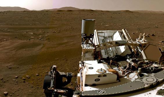 Mars'tan gönderilen fotoğraflar hayran bıraktı