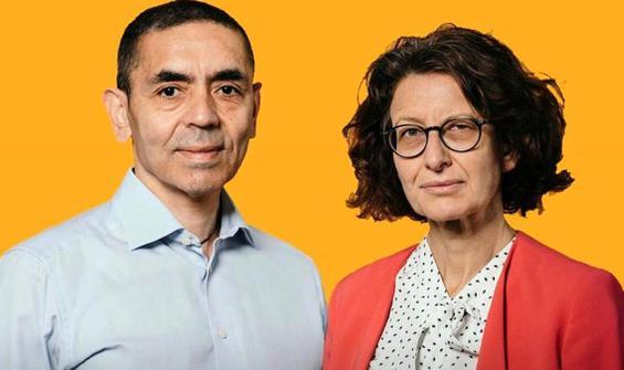 Almanya'dan Şahin ve Türeci'ye liyakat nişanı