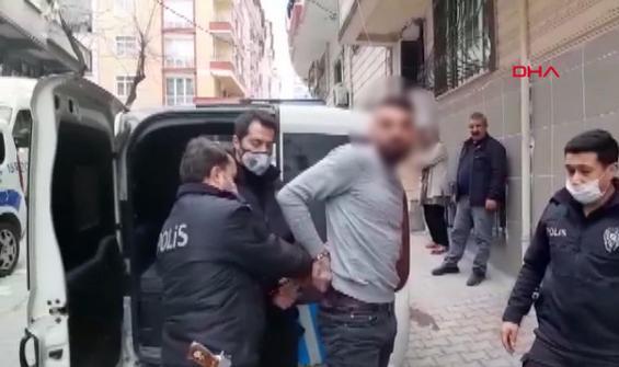 Kaçtıkları polise yakalanınca 'enişte' ile tehdit ettiler