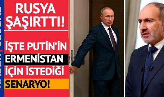 Putin, kaosa gömülen Ermenistan için ne istiyor?