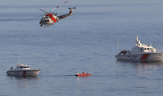 Gökçeada'da batan teknedeki teğmenin cansız bedeni bulundu