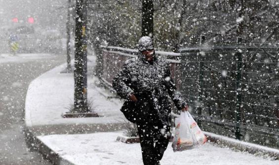 6 il için kar yağışı uyarısı
