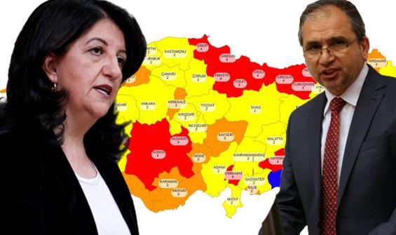 AK Partili vekilden Buldan'a 'risk haritası' yanıtı