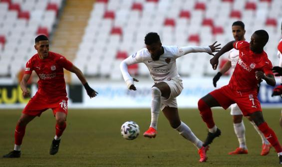 Sivasspor, Hatayspor ile yenişemedi