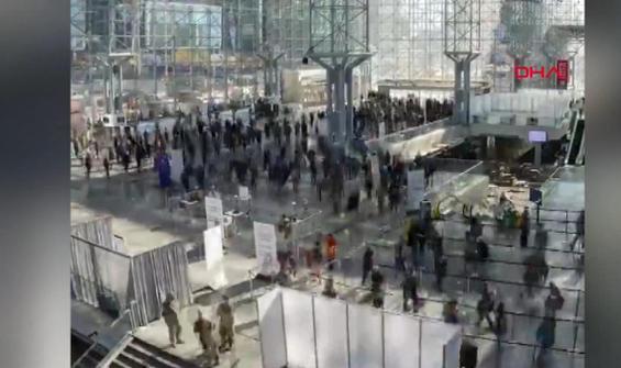 Günde 8 bin kişilik aşılama böyle görüntülendi