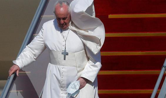 Tarihi an! Papa'nın Irak ziyareti başladı