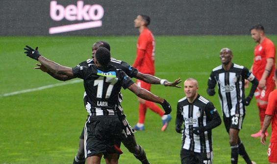 Beşiktaş Aboubakar'la liderliğe uçtu