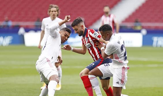Madrid derbisinde kazanan çıkmadı