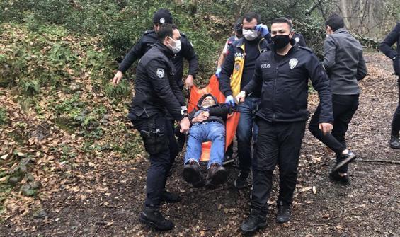 Ormanda bulduğu silahla kendisini vurdu