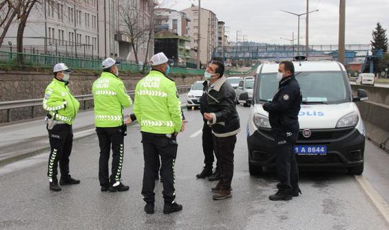 Zincirleme trafik cezası! Sürücüler şaşkına döndü